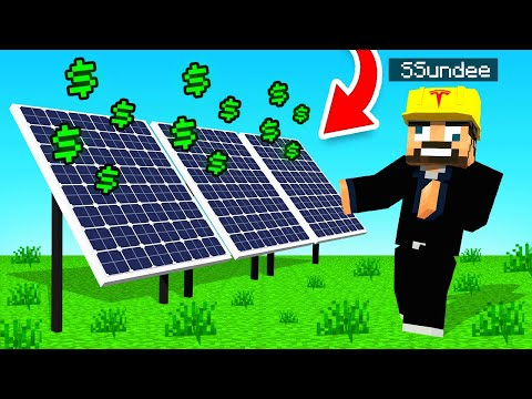 TESLA SOLAR PANELS in Minecraft (Sky Factory)