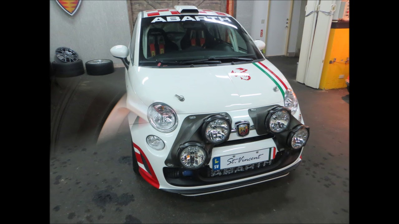 Fiat 500 Abarth Factory Rally Car R3t Part 1 Youtube
