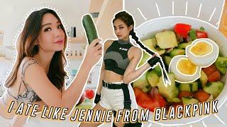 I tried BLACKPINK&#39s *EXTREME *Diet for 24 hours! (eating like Jennie Kim)