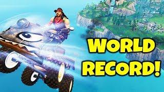 FLY *AROUND THE WORLD* CHALLENGE (New Fortnite World Record - FaZe Cizzorz) Playground Gameplay