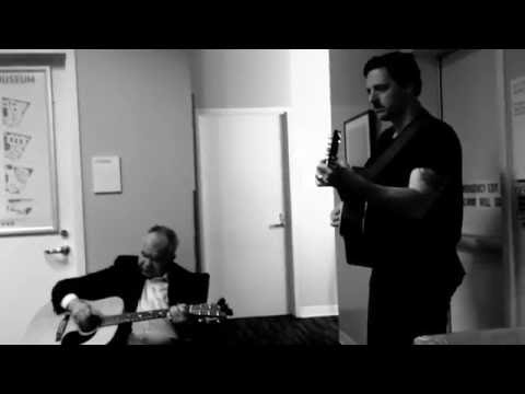 """John Prine & Sturgill Simpson, Rehearsing """"The Speed of the Sound of Loneliness"""""""