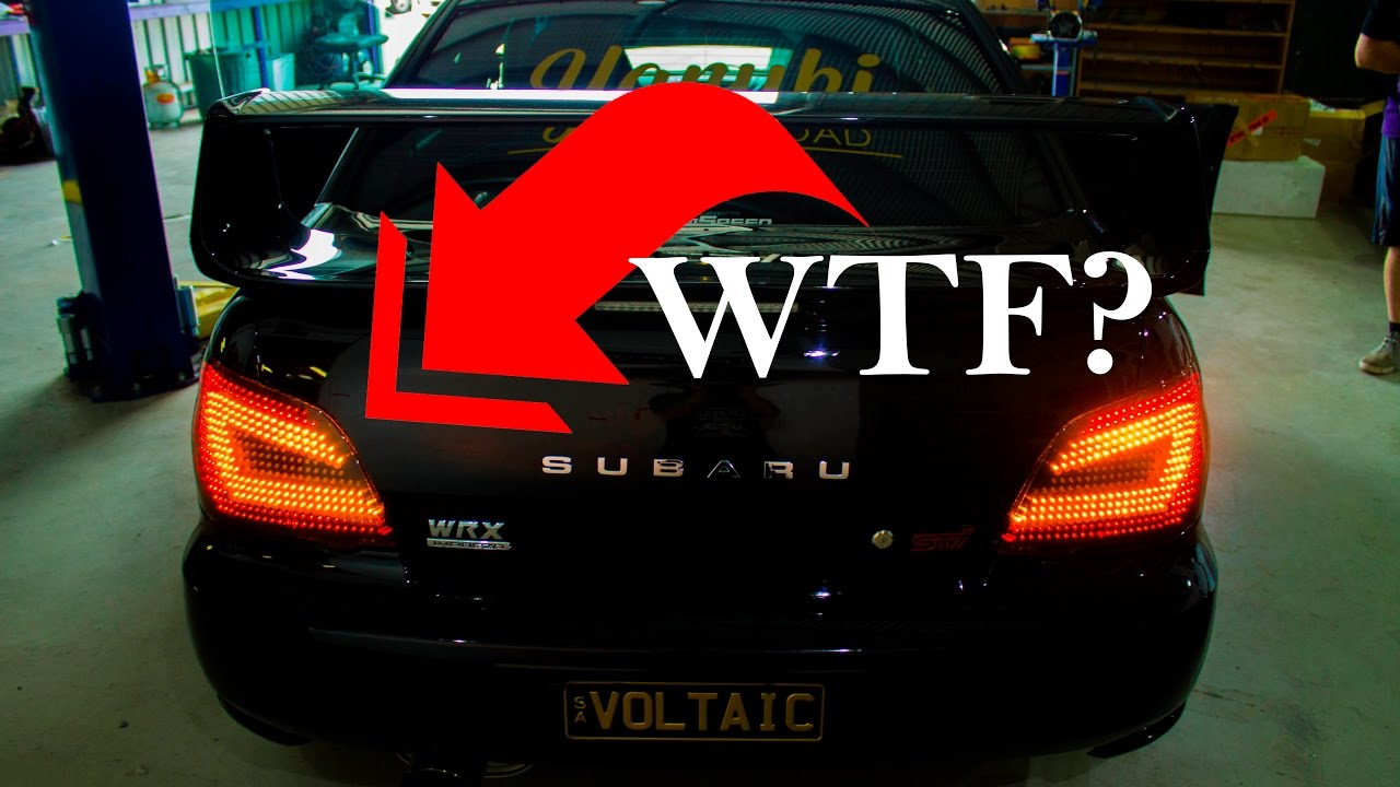 Custom Tail Lights Illegal Youtube