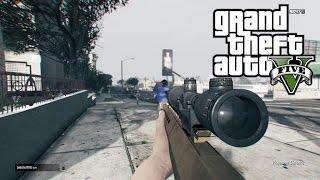 GTA 5 epic quickscope sniper montage #1 (ps4)