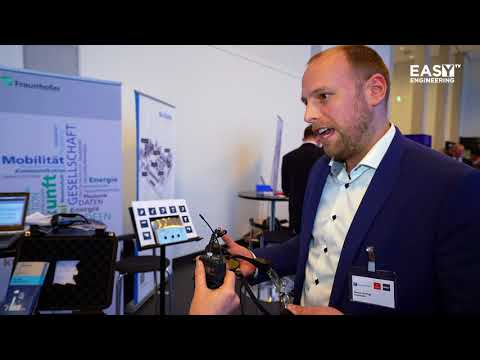Interview with Sascha Gierlings - Fraunhofer @CeMAT / HANNOVER MESSE Preview 2018