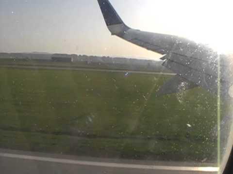 Взлет из аэропорта Уфа. Перелет Уфа - Анталия