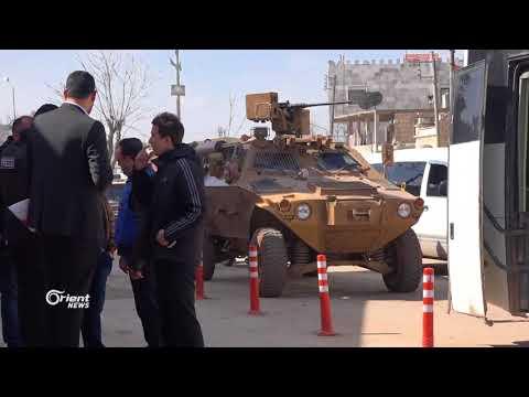 صحفيون عرب واجانب يدخلون إلى محيط عفرين شمال سوريا