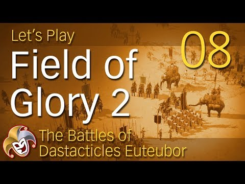 Field of Glory 2 ~ Bactrian Campaign ~ 08 Battle vs Indo Greeks