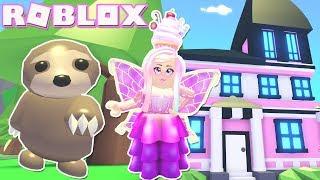 Novo Sloth Pet & 2X fim de semana!! Roblox: 😍 SLOTHS 😍 adoptar-me!