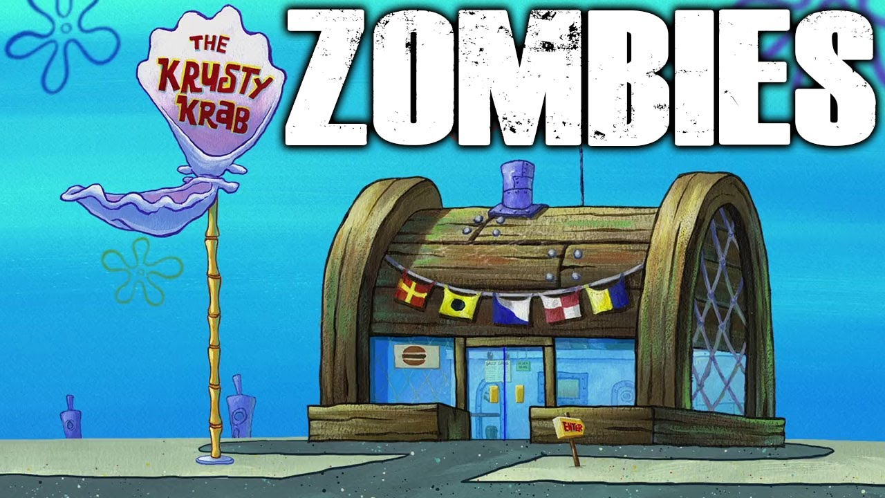 ZOMBIES ATTACK KRUSTY KRAB (Call of Duty Spongebob Zombies) thumbnail