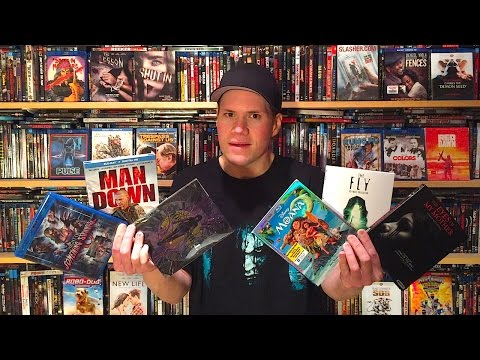 My Blu-ray Collection Update 3/4/17 : Blu ray and Dvd Movie Reviews
