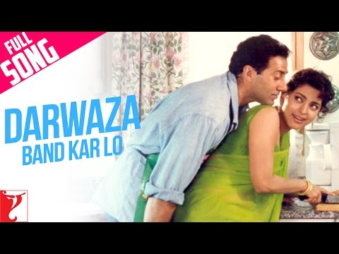Darwaza Band Kar Lo - Full Song   Darr   Sunny Deol   Juhi Chawla