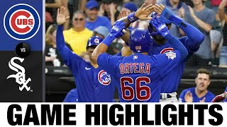 Cubs vs. White Sox Game Highlights (8/28/21)