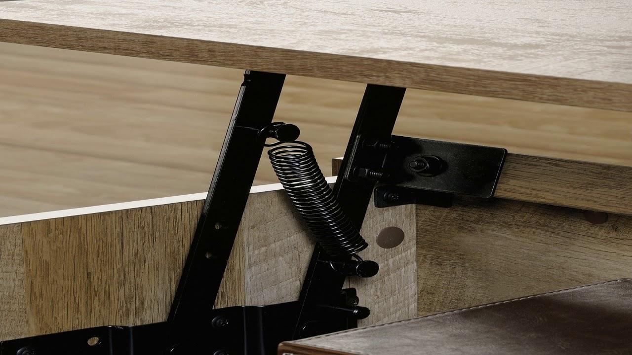 Sauder Coffee Table Furniture Craftsman Oak