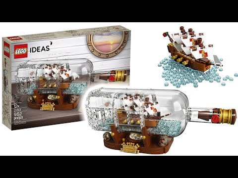 Amazing LEGO Ship In A Bottle Set Images For 2018!