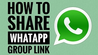 how to share whatsapp group link