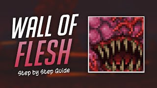 Terraria - How t๐ Defeat the Wall of Flesh (Step by Step)