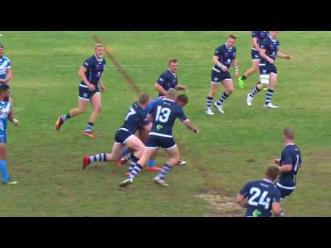 Scotland v Pacific Islands 1st Half - Student Rugby League World Cup 2017 - Semi Final