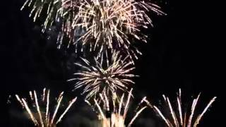 Harley Davidson fire works at Allen Celebration grounds for