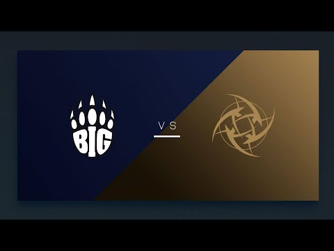 CS:GO - BIG vs. NiP [Cache] Map 1 - EU Matchday 7 - ESL Pro League Season 8