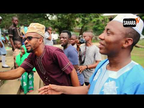 Sights And Sounds From Omoyele Sowore's Ibadan Town Hall Meeting