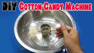How to make Cotton Candy Machine from Glow Plug