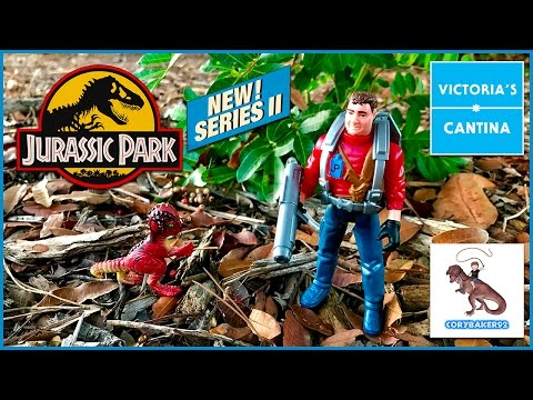 JURASSIC PARK Series 2 NEDRY Unboxing featuring Cory Baker