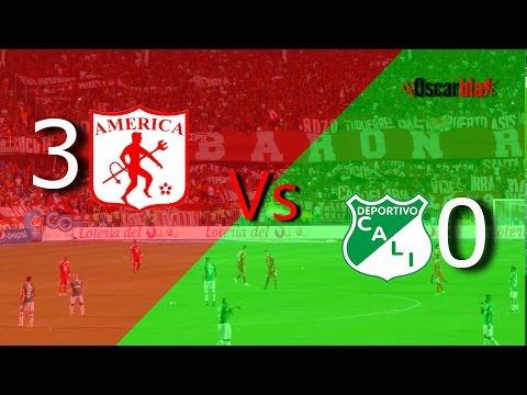 América de Cali Vs Deportivo Cali - Fecha 14 Liga Aguila 1 - 2017