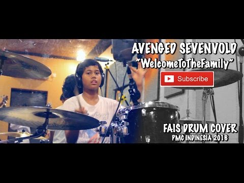 AVENGED SEVENVOLD - Welcome To The Family (FAIS DRUM COVER)