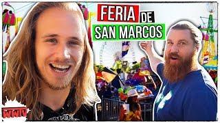 La FERIA Más Grande de MÉXICO Fascina a EXTRANJEROS ☆Feria San Marcos☆ WeroWeroTV ft. VolandoVoyVlog