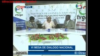 VI Mesa de Diálogo Nacional, Sesión II, día 19 de julio de 2018 [HD] (en DIRECTO)