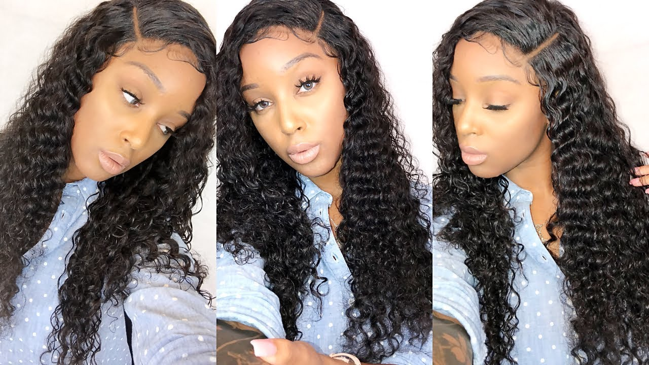 How To Do A Deep Side Part With A Closure!