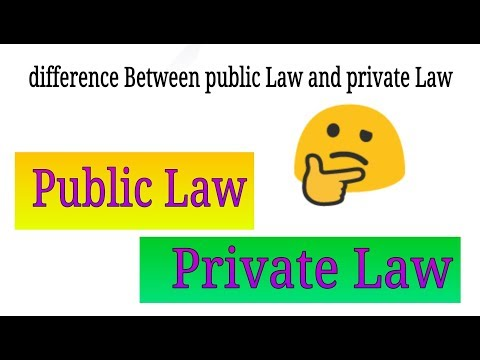 Public law private law . Difference between public law and private law . Study of law Legal Dost