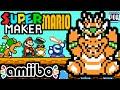 Super Mario Maker PART 7 Gameplay Walkthrough (Super Mario Bros 3 Airship, Meta Knight Amiibo) Wii U