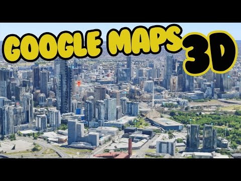GOOGLE MAPS 3D TUTORIAL