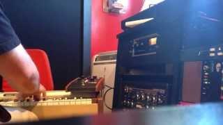 Elka Rhapsody string synth - Moog phasor - space echo - mpc 60 / s950 drums demo