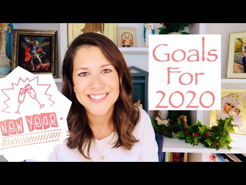 GOALS FOR 2020!  HAPPY NEW YEARS || HOPES AND DREAMS FOR THIS YEAR