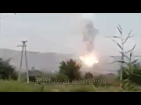 TOS-1 Of Azerbaijan Destroyed By Armenian Troops.