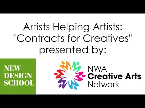 """Artists Helping Artists """"Contracts for Creatives"""""""