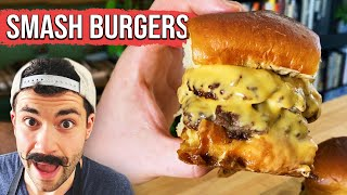 How To Make The Perfect Smash Burger  Tasty