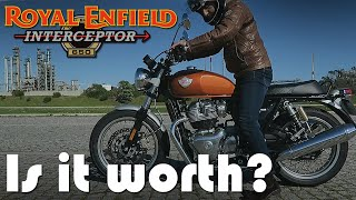 Cafe Racer (New Royal Enfield Twin 650 Interceptor) Test Drive