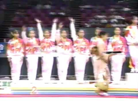 1994 Asian Games gymnastics Women Team & AA Highlights