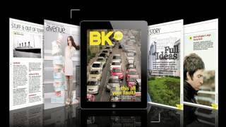 Introducing BK Magazine On IPad