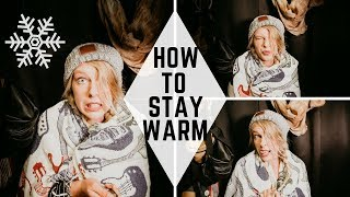 HOW TO STAY WARM IN YOUR VAN | VANLIFE