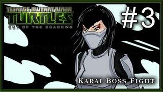 Teenage Mutant Ninja Turtles Out of the Shadows PC - Part 3 - Chapter 1 - Karai Boss Fight