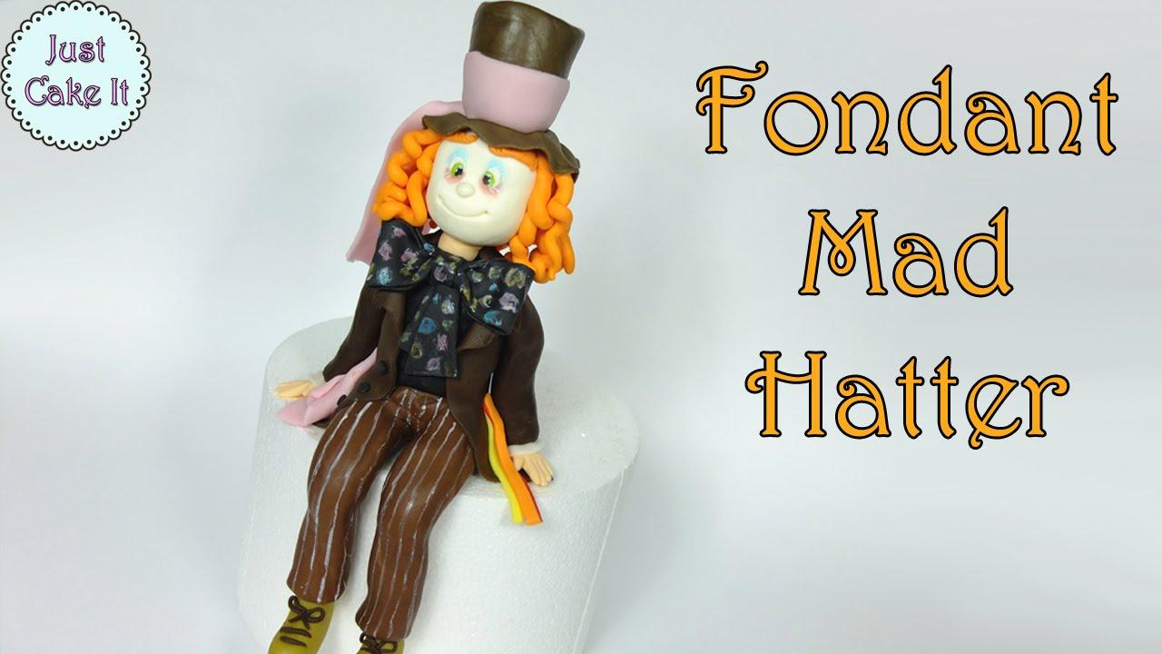 Mad Hatter Cake Topper