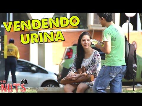 PEGADINHA - VENDENDO URINA