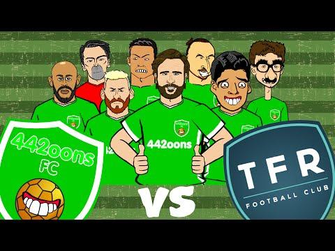 442oons FC vs TFR FC Penalty Shoot-Out! (Parody Messi, Ronaldo, Muller, Zlatan, Suarez)