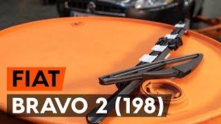 Jak vyměnit stěrače / list stěrače na FIAT BRAVO 2 (198) [NÁVOD AUTODOC]