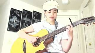 Happy New Years (Fingerstyle) - Virginia nguyen (bé Mẫn)