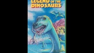 Video Opening To Legend Of The Dinosaurs 1990 VHS download MP3, 3GP, MP4, WEBM, AVI, FLV Agustus 2018